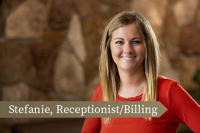 Stefanie | Fargo Spine Receptionist